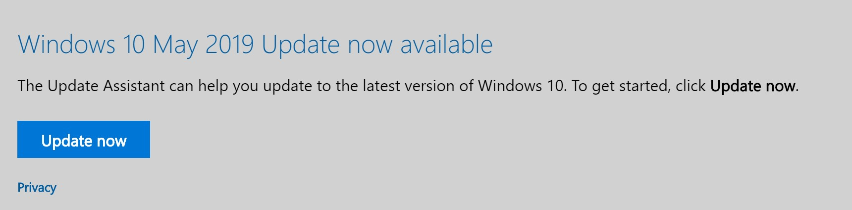 How to force the Windows 10 May Update – vWorld nl